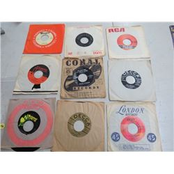 9 - 45RPM RECORDS