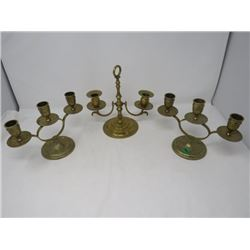 INDIA BRASS  BRASS CANDLE HOLDERS