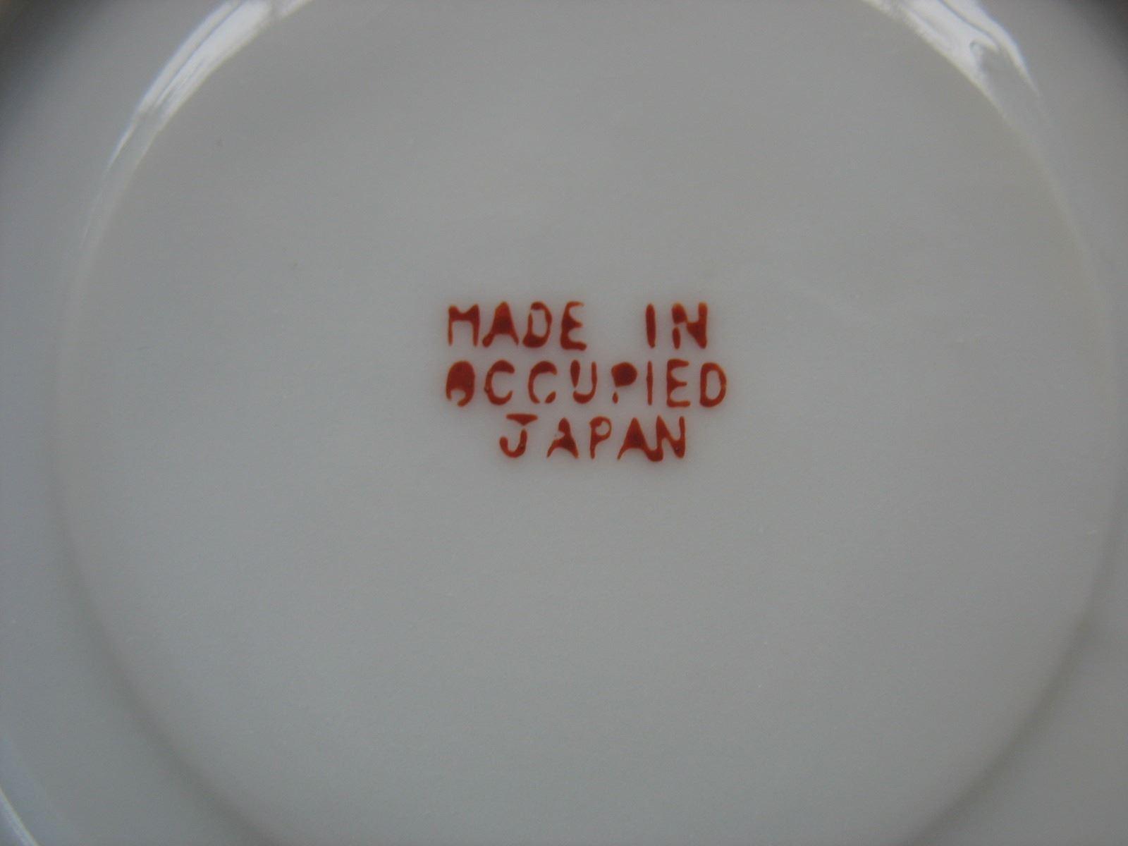 Cup & Saucer - Occupied Japan - Demitasse