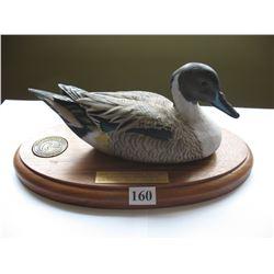 Ducks Unlimited Saskatchewan - Spnsor Decoy - Artist - Harvey Welch
