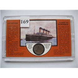 1912 US V Nickel - S.S. Titanic - The year it sank