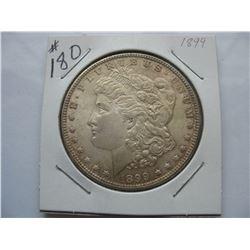1899 United States Morgan Dollar
