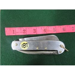 CANADIAN ARMY AIRBORNE KNIFE. MARKED CASE XX STAINLESS.