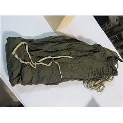 2 CANADIAN ARMY SLEEPING BAG PROTECTIVE COVERS 1970'S