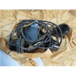 WWII CANADINA ARMY TELEPHONE SET (HEADPHONES W/SPEAKER UNIT. NEW IN BOX)