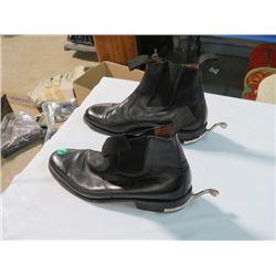 RCMP MESS DRESS PARADE BOOTS WITH SPURS (SZ10E)