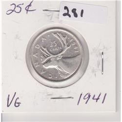 1941 CNDN SILVER QUARTER