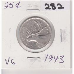 1943 CNDN SILVER QUARTER