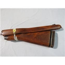 LEE ENFIELD NO.4 MK 1 SPORTSTER WOOD STOCK AND FORE END