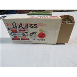 BOX OF WINDCHESTER .243 CAL. BRASS