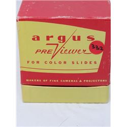 ARGUS PREVIEWER FOR COLOR SLIDES