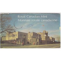 1974 UNCIRCULATED ROYAL CANADIAN MINT SPECIMEN SET