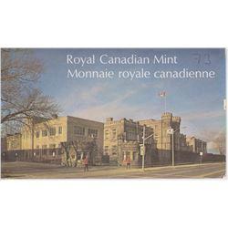 1973 UNCIRCULATED ROYAL CANADIAN MINT SPECIMEN SET