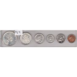 1964 UNCIRCULATED CANADA MINT COIN SET