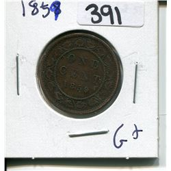 CANADA 1859 LARGE PENNY