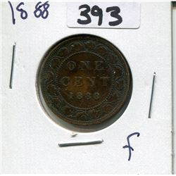 CANADA 1888 LARGE PENNY
