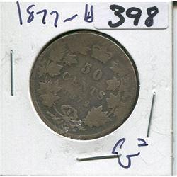 CANADA 1872 50 CENT PIECE