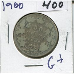 CANADA 1900 50 CENT PIECE