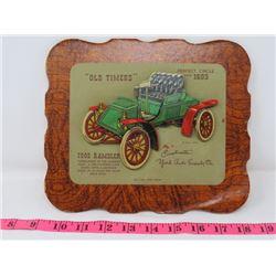 1902 RAMBLERS CAR DEALER CARD 9X8 YORK AUTO SUPPOLY CO. YORKTON SK.