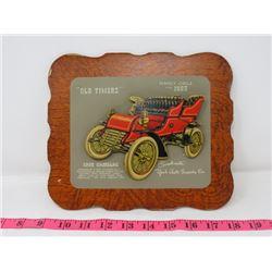 1902 CADILLAC CAR DEALER CARD 9X8 YORK AUTO SUPPOLY CO. YORKTON SK.