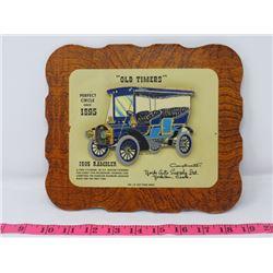 1905 RAMBLER CAR DEALER CARD 9X8 YORK AUTO SUPPOLY CO. YORKTON SK.