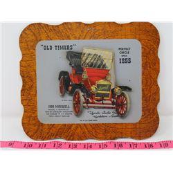 1909 MAXWELL CAR DEALER CARD 9X8 YORK AUTO SUPPOLY CO. YORKTON SK.