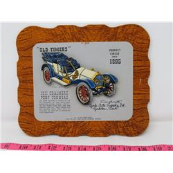 1911 CHALMERS PONY TONNEAU CAR DEALER CARD 9X8 YORK AUTO SUPPOLY CO. YORKTON SK.