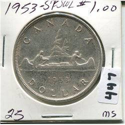 1953 CNDN SILVER DOLLAR