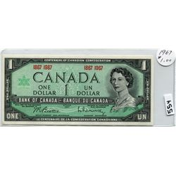 1967 CNDN DOLLAR BILL