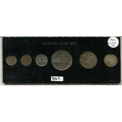 1960 CNDN COINS, SET OF 6