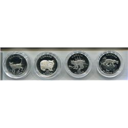 1999 RCM COIN SET OF 4 50 CENT PCS