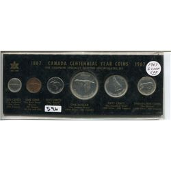 1967 CNDN CENTENNIAL SET OF 6