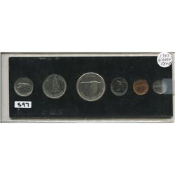 1967 CNDN CENTENNIAL PENNY TO DOLLAR SET