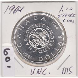 1964 CND SILVER DOLLAR