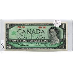 1967 CNDN DOLLAR BILL, UNCIRCULATED
