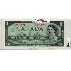 1967 CNDN DOLLAR BILL, UNCIRCULATED