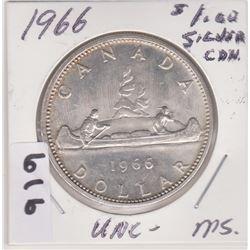 1966 CNDN SILVER DOLLAR COIN