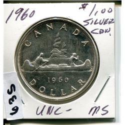 1960 CNDN SILVER DOLLAR