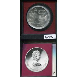 1973 CNDN MONTREAL OLYMPICS 5 DOLLAR COIN, SHIPS