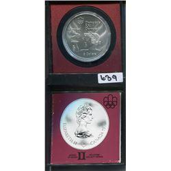 1974 CNDN MONTREAL OLYMPIC 5 DOLLAR COIN