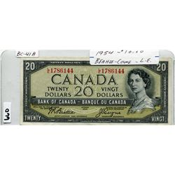 1954 CNDN 20 DOLLAR BILL