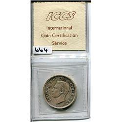 1949 CNDN SILVER DOLLAR ICCS SW716