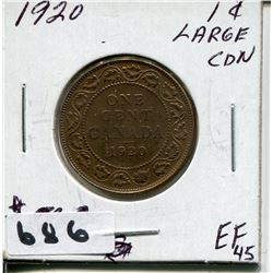 1920 CNDN LARGE PENNY