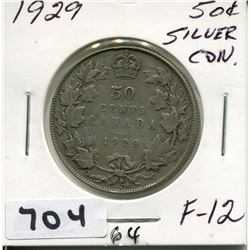 1929 CNDN SILVER DOLLAR