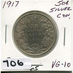 1917 CNDN 50 CENT PC