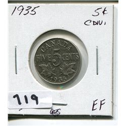1935 CNDN 5 CENT PC