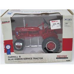 FARMALL B BLUE RIBBON SPECIAL SERVICE TRACTOR ERTL