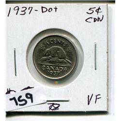 1937 DOT CNDN NICKEL