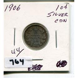1906 CNDN SMALL SILVER DIME