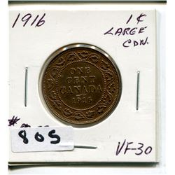 1916 CNDN LARGE PENNY